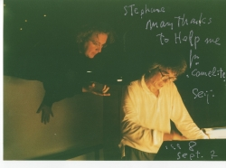 Denève, Ozawa - signed photograph