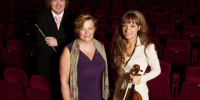 with Culture Minister and Nicola Benedetti